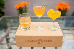 Summer scotch cocktail giveaway with Shaker & a Spoon