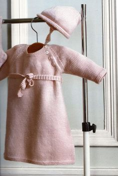baby dress with belt