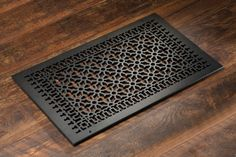 Cast Aluminum: Victorian - HVAC Grilles - Wall/Ceiling/Floor - Pacific Register Company Floor Vent Covers, Wood Floor Finishes, Victorian Pattern, Fireplace Cover, American Craftsman, Big Houses, Home Projects, Animal Print Rug, Home Improvement