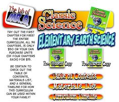 Elementary Earth Science  - Free first chapter, then inexpensive for the rest.