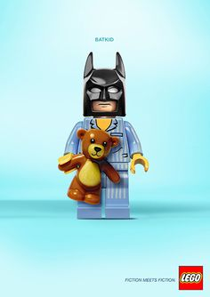 Lego Advert - Fiction meets Fiction, Bat Kid