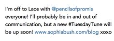 Make A Difference Monday--Sophia Bush!