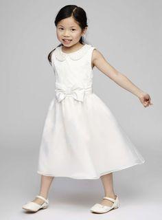 Chloe Ivory Collar Flower Girl Dress - BHS