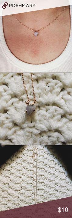 Lauren Conrad stone pendant necklace Lauren Conrad stone necklace LC Lauren Conrad Jewelry Necklaces