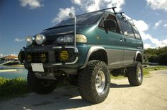 Nice lifted L400 in Japan