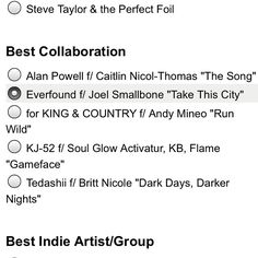 Guess who is nominated for Best Collaboration? Everfound is!!!!!! Vote for them and your other favorite artist by clicking This link http://www.surveymonkey.com/s/welove2015 Spread the news and let's hope they win this time.