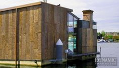 Plath Floating Home - Seattle, WA BUILDER: G. Little Consutrction Dynamic Architectural Windows & Doors
