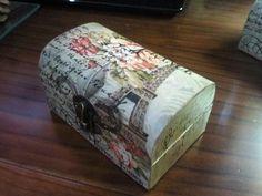 Cajas decoradas Boho Chic, Shabby Chic, Decopage, Printable Paper, Jewelry Box, Decorative Boxes, Diy, Collection, Home Decor