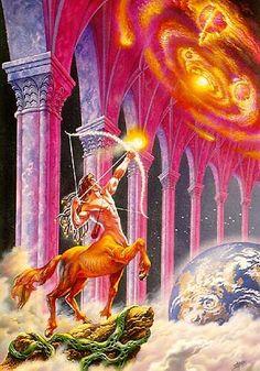 Sagittarius Psychedelic Wallpapers