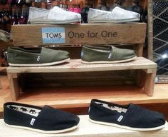 TOMS shoes are now available at our Fargo, ND store! #scheels
