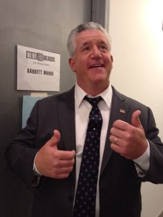 Gregory Jbara is Garrett Moore