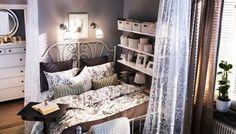 vintage beds bed frames and ikea on pinterest. Black Bedroom Furniture Sets. Home Design Ideas