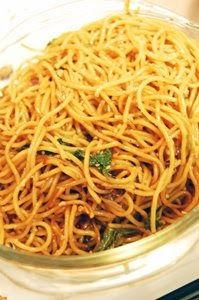 This is a recipe I happened across while online one day and I love it. I was really craving garlic noodles and this hit the spot! Begin ...