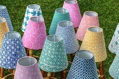 Rattan Lamp with Batik Shade for kids. Fun prints and colors! Rattan Lamp, Fun Prints, Kids Fun, Lily Pulitzer, Shades, Colors, Interior, Indoor, Colour