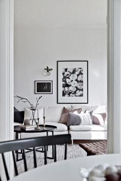 my scandinavian home: A monochrome Swedish pad with a soft touch