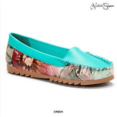 Nichole Simpson Women's Floral Moccasins - Assorted Colors at 52% Savings off Retail!