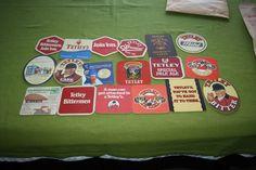 Collection of 18 Beermats  - Tetley (Leeds) (2L18) 10/14