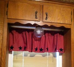 Kitchen Curtain Topper