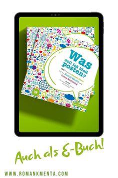 Sortiere Dein Business neu! Meine Businessbücher helfen Dir für ein Business, das läuft --> www.romankmenta.com/shop Business Coach, Online Business, Im Online, Online Marketing, Social Media, Blog, Pick Yourself Up, Book Recommendations, Things To Do