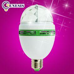disco light Festival led stage light E27 RGB bulb Full Color 3W Crystal Magic DJ lights dance party effect Lamp