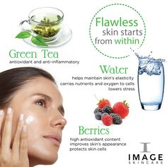 Flawless skin starts from within. IMAGE Skincare can take it from there! www.imageskincare.com