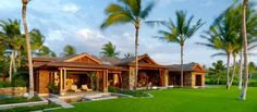 Tropical Craftsman Home - Big Island, Hawaii | de Reus Architects
