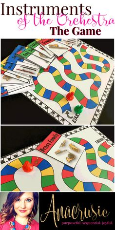 This game is perfect for teaching the different instruments of the orchestra in your elementary music classroom. Great for sub tubs and stations!!