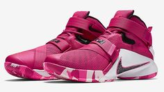 860627077b0 Nike LeBron Soldier 9 Think Pink. In connection with the Kay Yow Cancer  Foundation is the Nike LeBron Soldier 9 Think Pink.