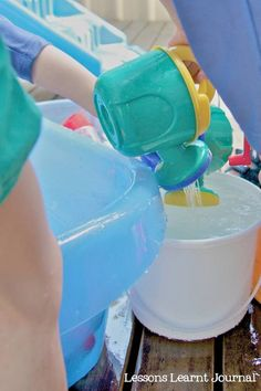 5 tried and tested water play toys via Lessons Learnt Journal. We play with these all the time.