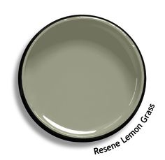 Resene Lemon Grass is a smoky grey green neutral, remindful of an overcast day.