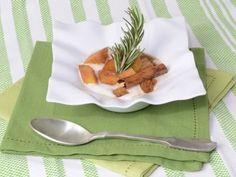 Receta   Papaya tostada con romero y canela - canalcocina.es
