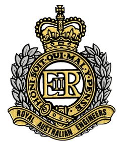 Royal Australian Engineers Army Tattoos, Australian Defence Force, Military Insignia, Anzac Day, Butches, Armed Forces, Canoe, Badges, Engineering