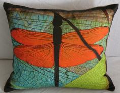 Dragonfly pillow <3
