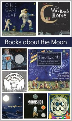 Fiction & Nonfiction Children's Books about the Moon! ~BuggyandBuddy.com