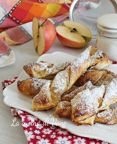 torcetti di sfoglia alle mele ricetta golosa facile e veloce