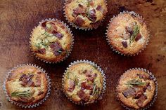 Find the recipe for Bacon-Cheddar Muffins  and other  recipes at Epicurious.com