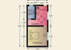 Constructora Sol del Plata – Viviendas Prefabricadas – Construcción de Casas | 1 Dormitorio