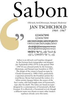 Sabon Poster Serif Typeface, Writing Tips, Masters, Typography, Words, Design, Style, Designer Fonts, Posters