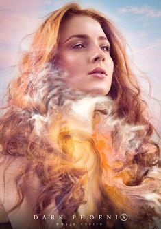 Dark Phoenix - Majd Khatib Jean Grey Phoenix, Phoenix Art, Dark Phoenix, Punisher Marvel, Ms Marvel, Captain Marvel, X Men, Phoenix Marvel, Avengers Girl