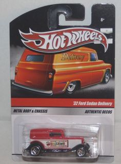 2010 Hot Wheels Sweet Rides Charms '32 Ford Sedan #HotWheels #Ford Ford Anglia, 32 Ford, Hot Wheels Cars, Red Purple, Body, Charms, Scale, Trucks, Live