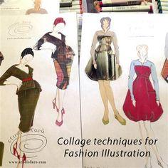 In my studio or at your school!  Testing a New #FashionIllustration Task #Sydney #DesignDrawing