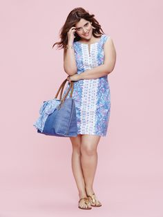 The Curvy Fashionista | Lilly Pulitzer for Target Look Book with Plus Size Looks