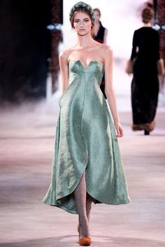 Ulyana Sergeenko Fall 2013 Couture Fashion Show - Iris van Berne