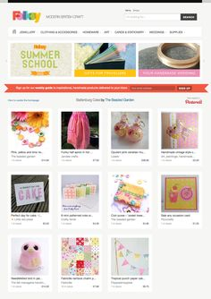 Folksy used my board on the front page - hurray!