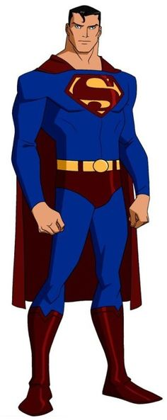Superman from YOUNG JUSTICE, but just from young justice. I don't think the portrayal of him in this show matches anything else we have ever seen from the character in any other show/comic/movie/anything. He just didn't act like superman.