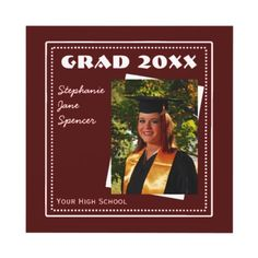 Create your own Graduation Party Invitation like this one. It's easy to add your Photo and info.  http://www.zazzle.com/grad_20xx_white_frame_photo_invitation-161324077180193485?gl=dlgray=238027039487186211=zBookmarklet