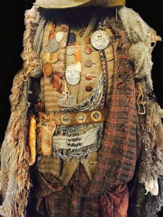 The costume of Hugh Munro  gaberlunzies?