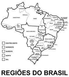 Pedagógiccos: Regiões brasileiras - atividades