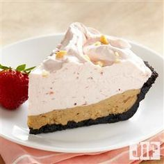 PB&J Banana Ice Cream Pie from Jif® is your favorite sandwich, in pie form!