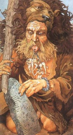 In Irish-Celtic myth, Ogma is the god of eloquence and learning. A member of the Tuatha Dé Danann, he may be related to the Gallic god Ogmios.